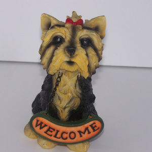 Other - Welcome Yorkshire Terrier Statue